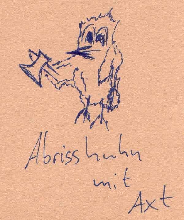 Abrisshuhn