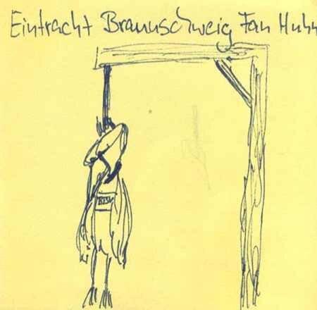 Eintrachtfanhuhn