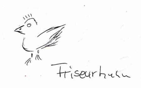 Friseurhuhn