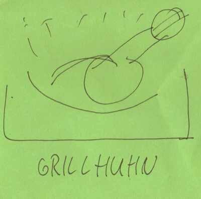 Grillhuhn