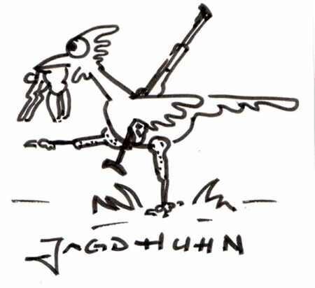 Jagdhuhn
