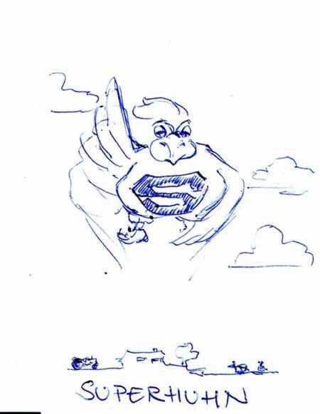 Superhuhn Max