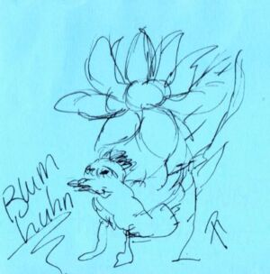 Blumhuhn