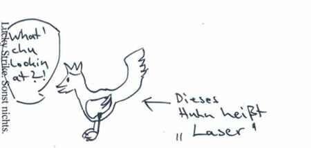 Laserhuhn