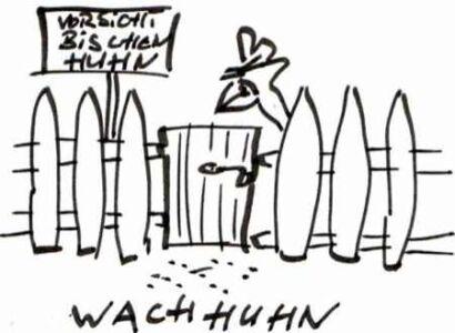 Wachhuhn